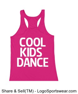 Cool Kids Dance Youth Tank Design Zoom